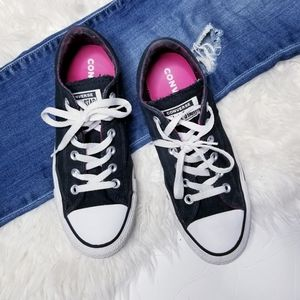 Converse lace up tennis shoes